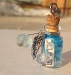 Castiel's Grace Bottle Necklace