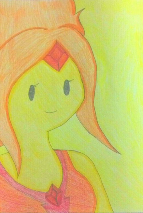 Flame Princess by shayminlover492