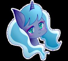 Princess Luna Portrait by PaperKoalas