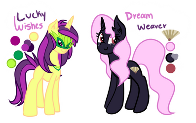 [OCS] Lucky Wishes And Dream Weaver [filler]