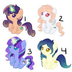 Pony Auction (2/3 OPEN)