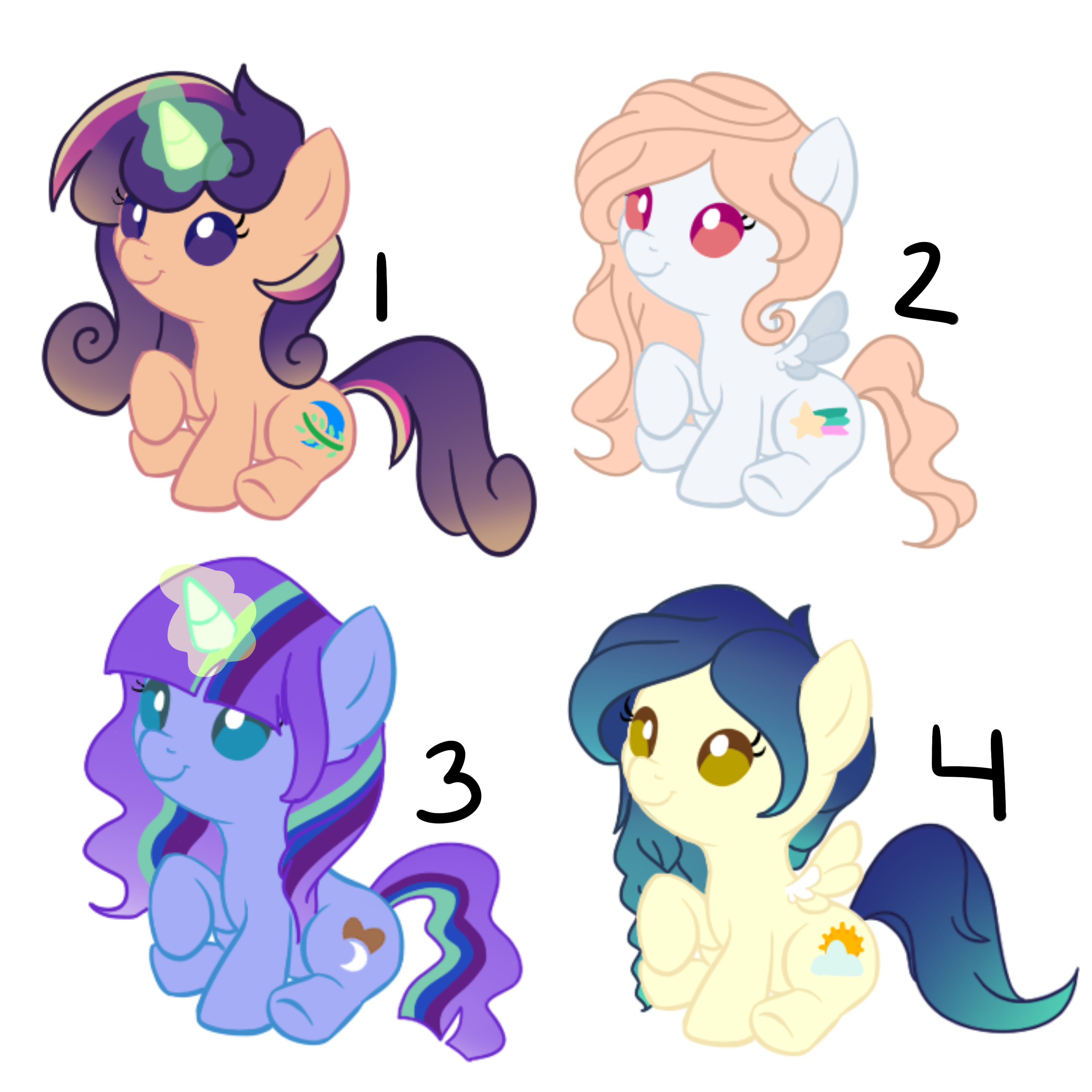 Pony Auction (2/3 OPEN) by PaperKoalas