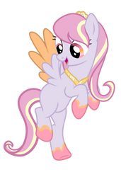 Cherry Wish Cloud Pony by PaperKoalas