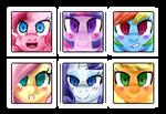 Mane Six Icons