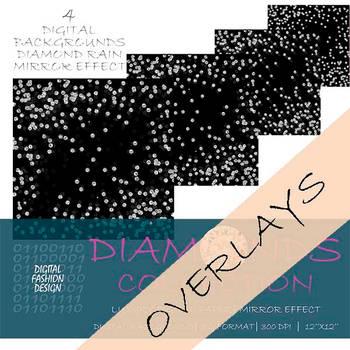 Digital fashion design resources - diamond overlay by DigitalFashionDesign