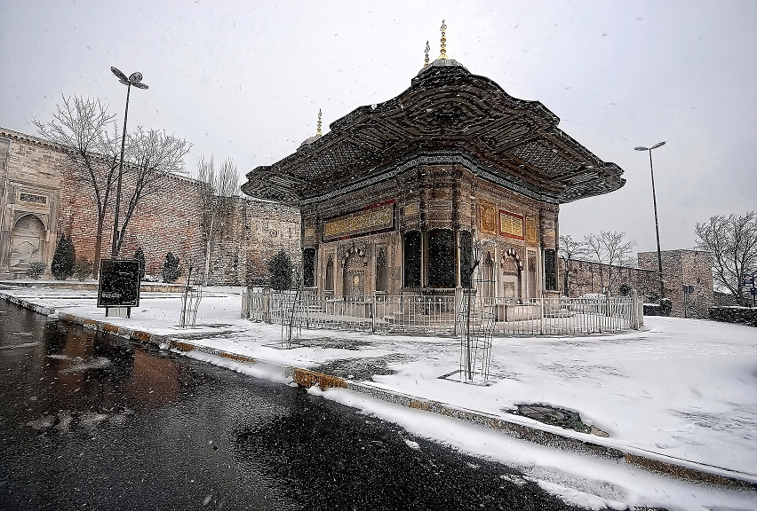 III.Ahmet Fountain istanbul by belkibirgun on deviantART