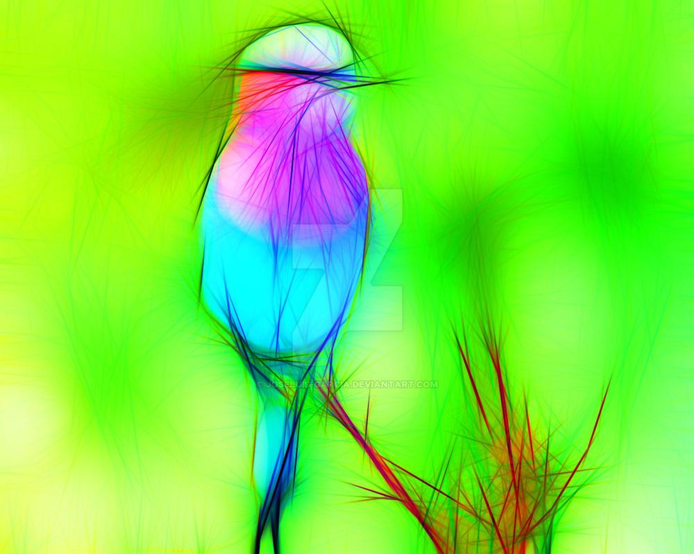 A colorful bird by joseluis-garcia
