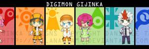 - Digimon Gijinka -