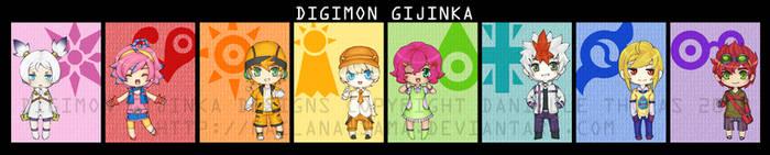 - Digimon Gijinka - by kailana-sama
