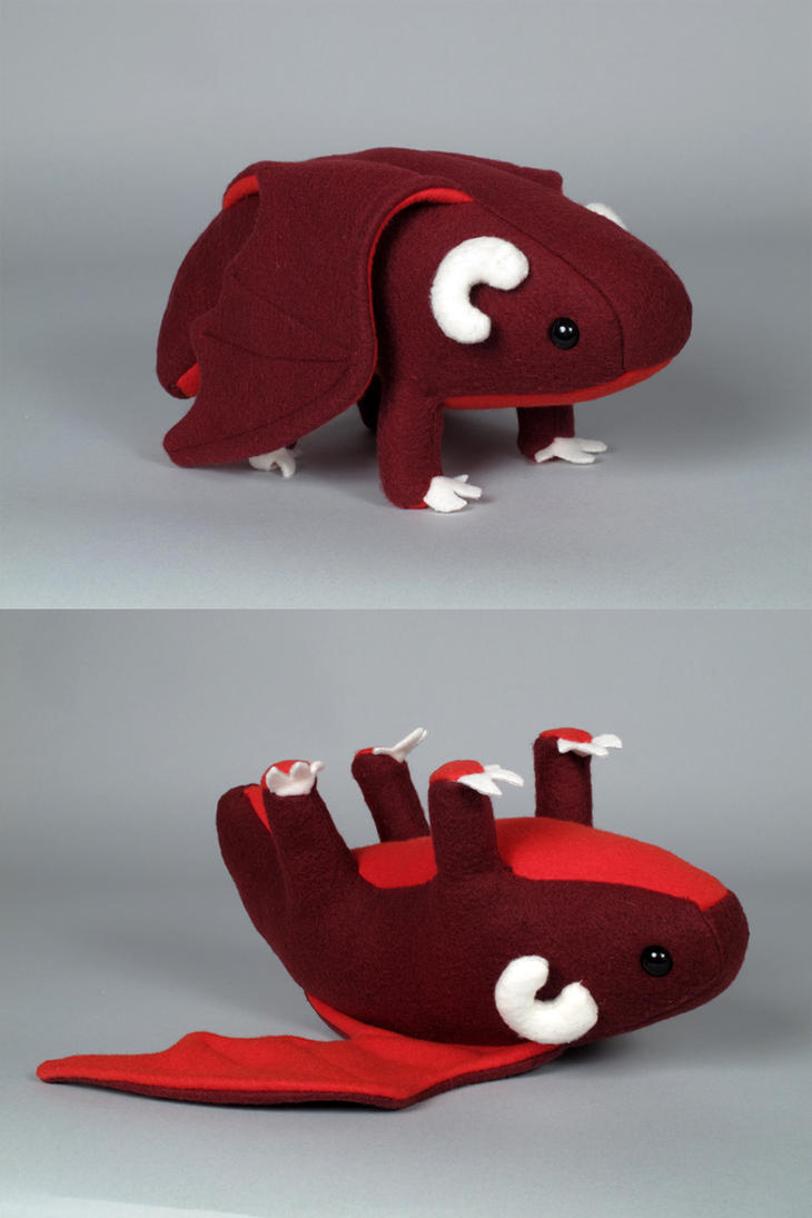 Dragon Plush by MowenDesigns