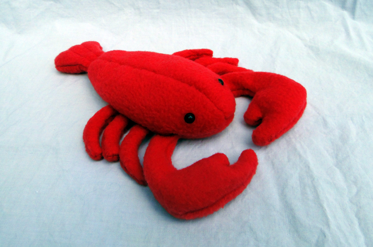 Lobster Plush by MowenDesigns