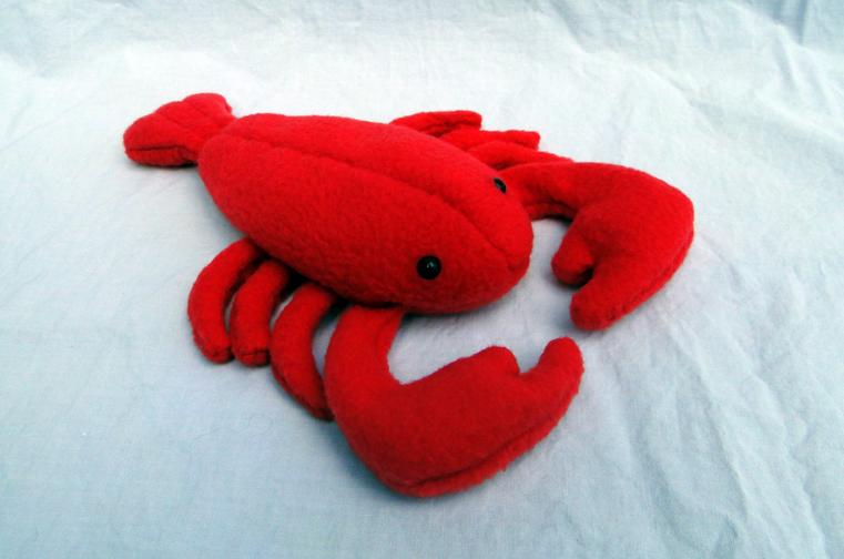 Lobster Plush by MowenDesigns