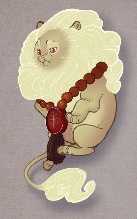 Luck Lion by MowenDesigns