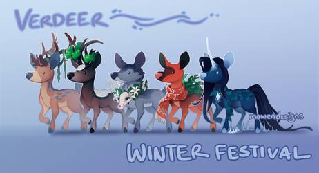 Verdeer Winter Festival Designs