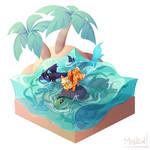 [Prompt] Aquatic Acquaintances