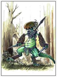 La vallee des  D - Homme Dragon 01