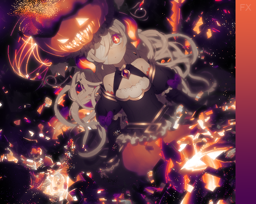 halloween_pumpkin_glow_signature_by_iamf