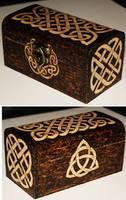 Celtic box by llinosevans