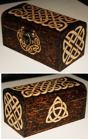 Celtic box by llinosevans