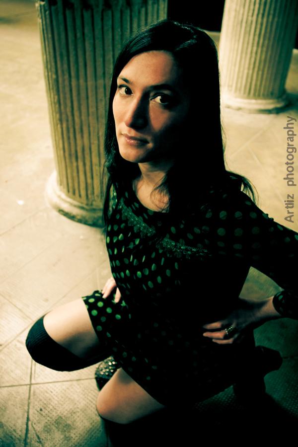 Gipsy Green - 02 by Artlizarine