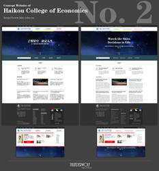Concept Website of HCE NO.2 by qfzpjm159