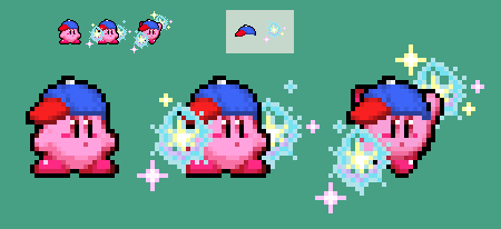 Esp Kirby sprite by DreamMaker0125