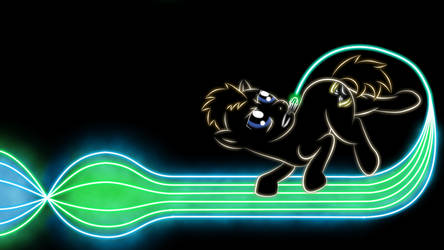 Doctor Whooves Glow Wallpaper by Face-of-Moe