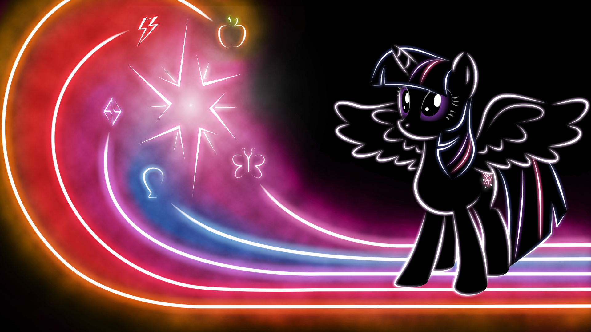 Doctor Whooves Glow Wallpaper by Face of Moe on DeviantArt