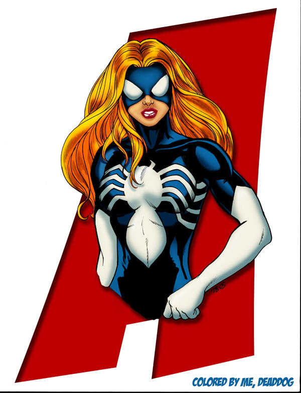 BURGOS' SPIDER WOMAN julia by DeadDog2007