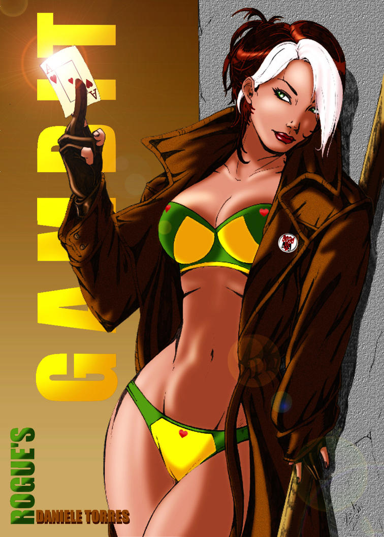 Gambit and rogue porn pics naked photo