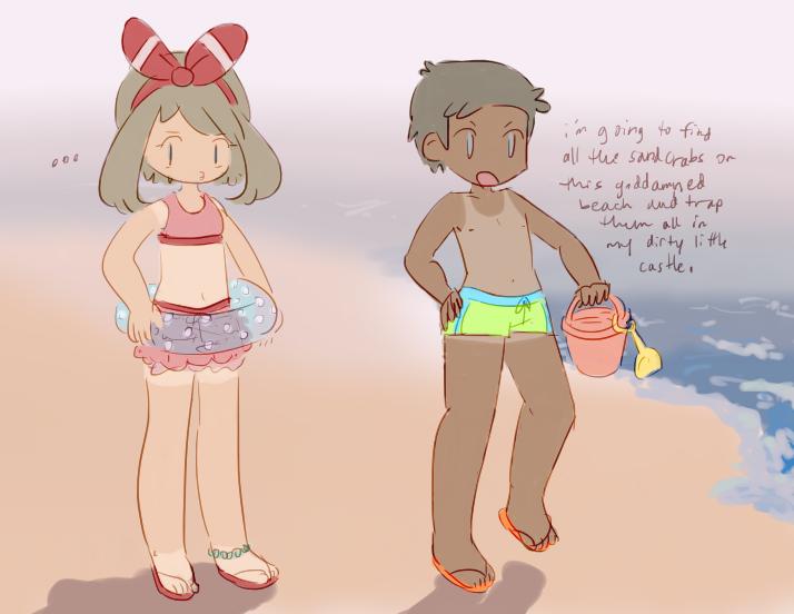 beach time by chloedork