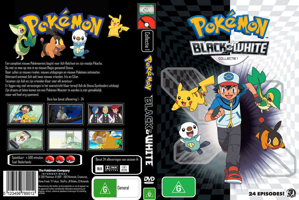 Pokemon season 14 Collection 1 of 2 Dutch DVDCover by dominique162