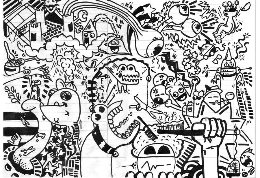 Marker Drawings By Weszel92 On DeviantArt