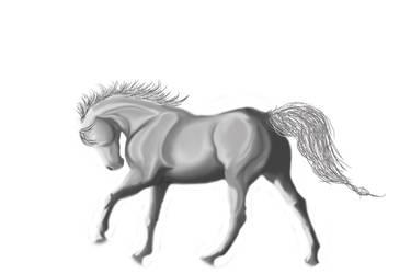 Horse 1 WIP