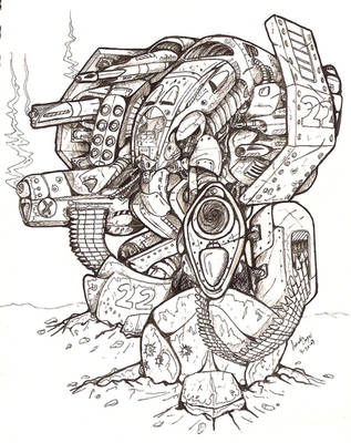 Battle Mech by TheEpic1