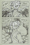 Thingol and Melian Comic, pg 2 by foxleycrow