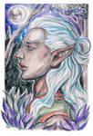 Legolas watercolor by foxleycrow