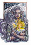 Annael and Tuor by foxleycrow