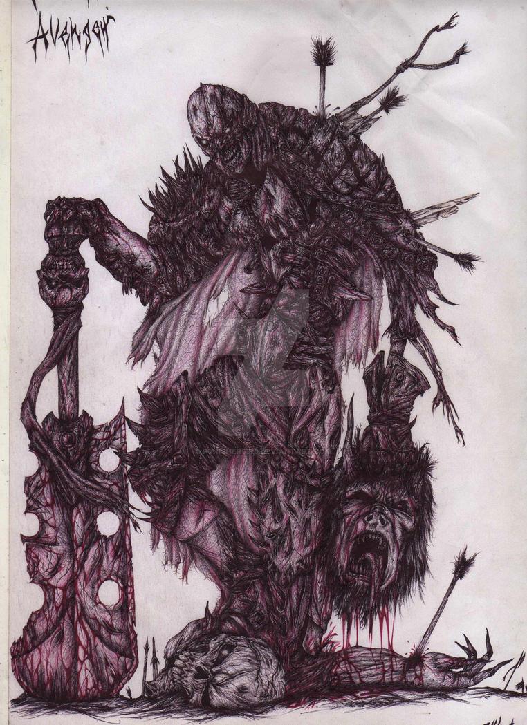 Fallen Avenger by punisher5576