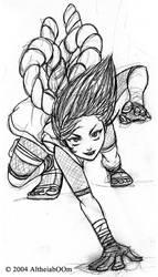 Ninja girl by AltheiaBoom