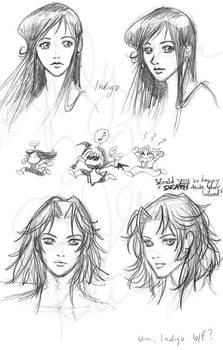 Indigo sketches