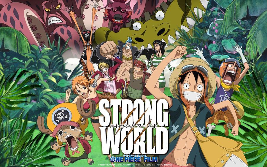 Strong World Wallpaper 2 By Xxxdani On Deviantart