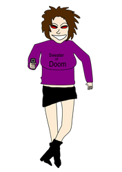 Evil Sweater Girl by htmlcoderexe