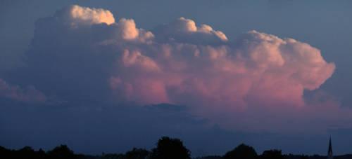 Last Light On The Cloudtop