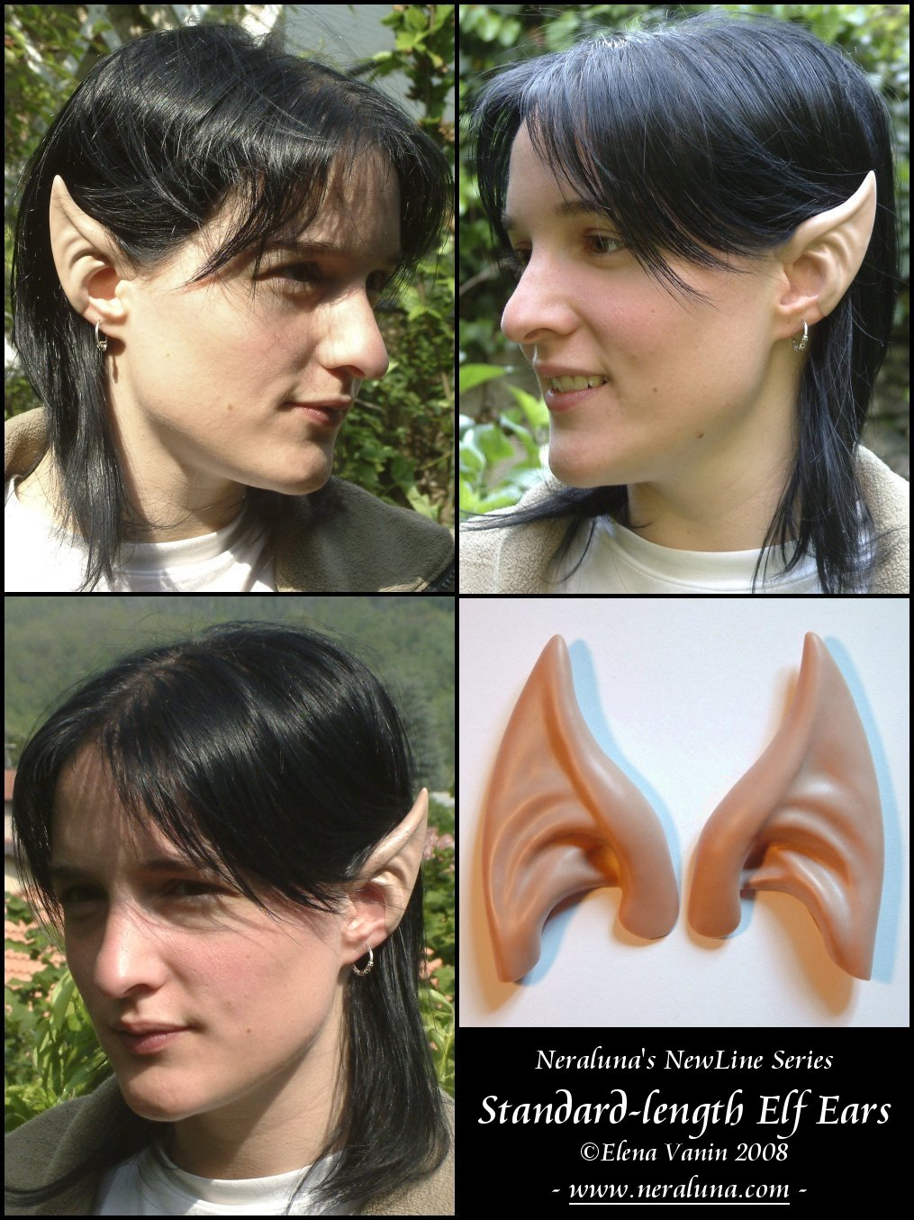 how to put on elf ears