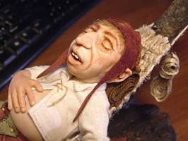 'Nils had a long day', preview of my new gnome