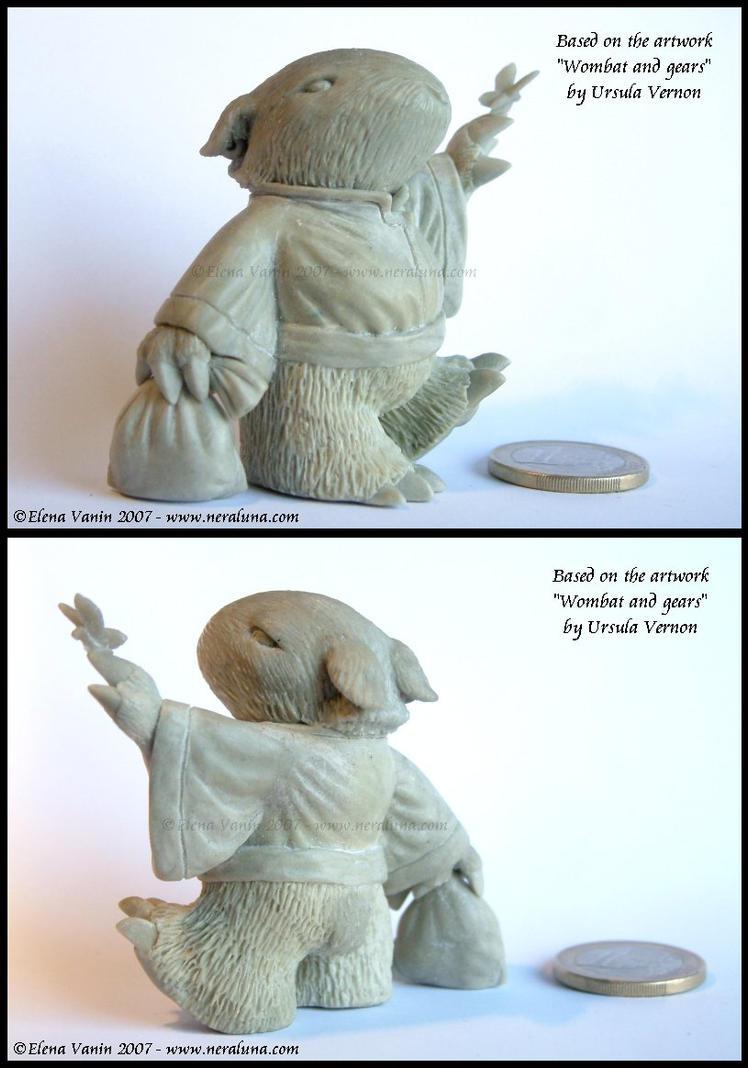 Wombat - tribute to Ursula V by Lluhnij