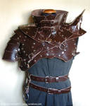 Leather armour and gorget