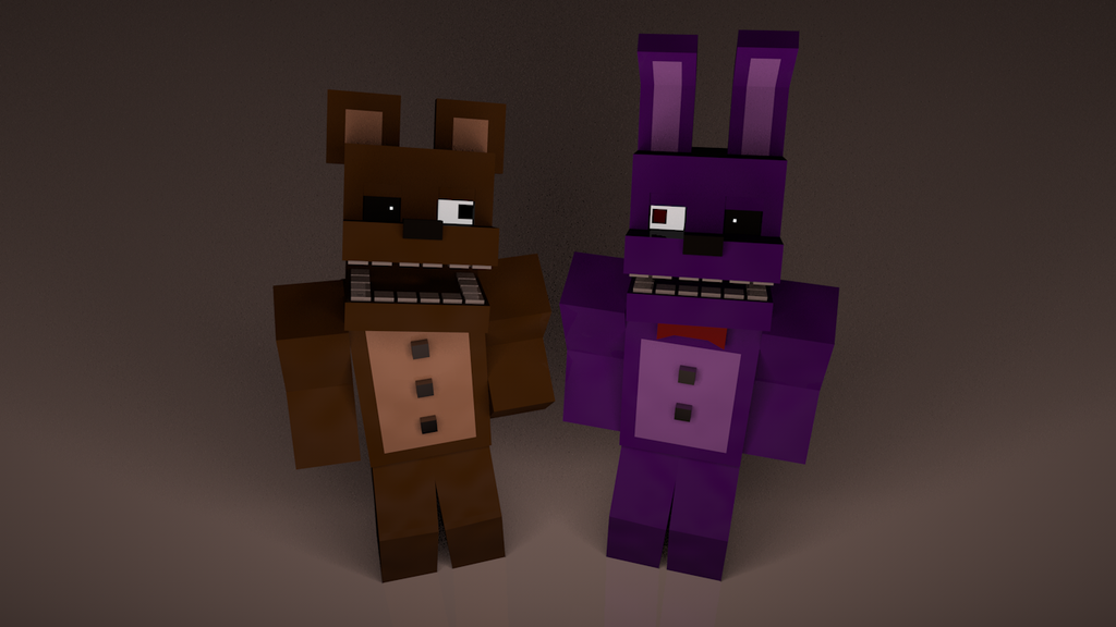 Fnaf minecraft fanart let s kill mike by azagwen4500unt on