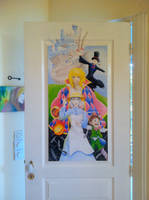 Paint my door: Howl's moving castle by CristalGreen